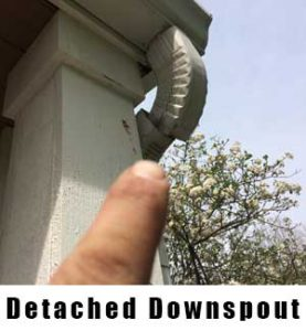 Detached Downspout (704) 989-8219